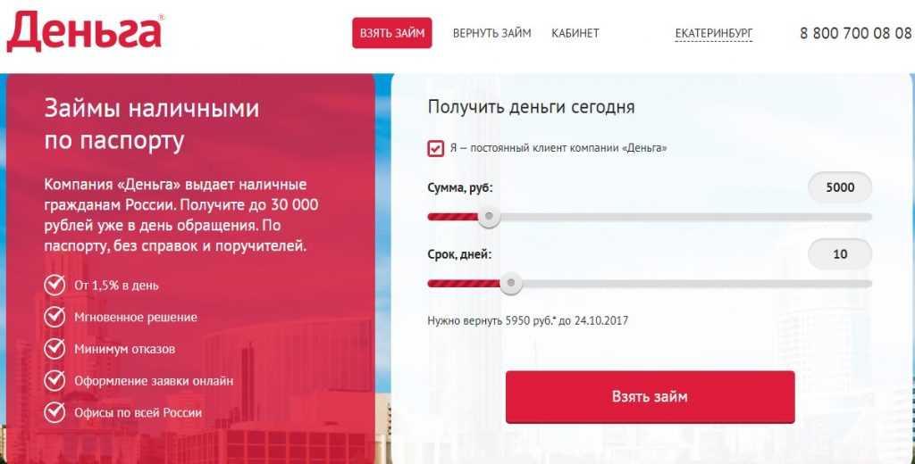 взять кредит у частного инвестора без залога срочно наличными в москве